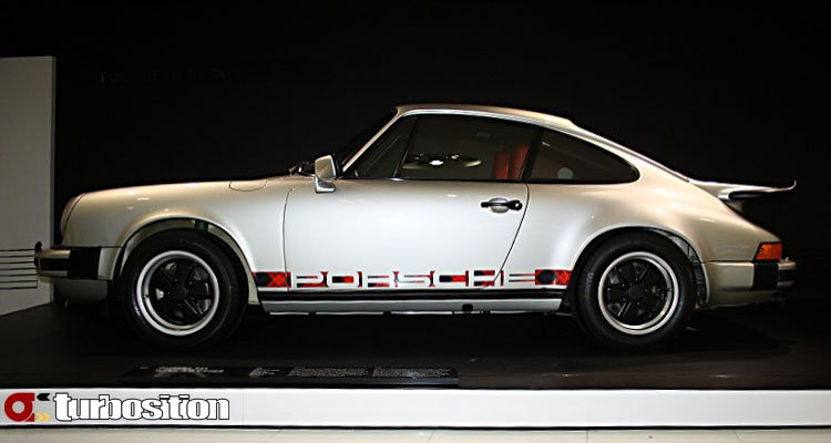 Porsche 911 turbo - the first - sideview
