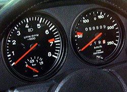 Ladedruckanzeige Porsche 930