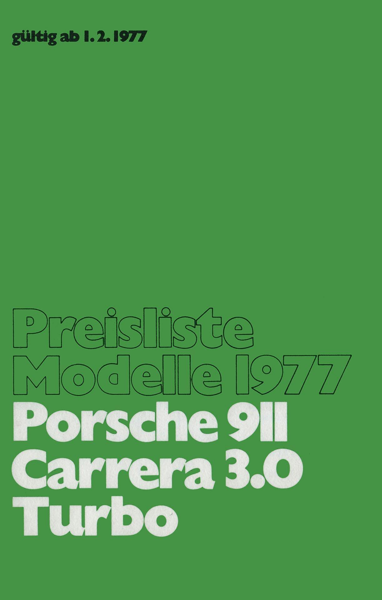 Porsche Prospekte