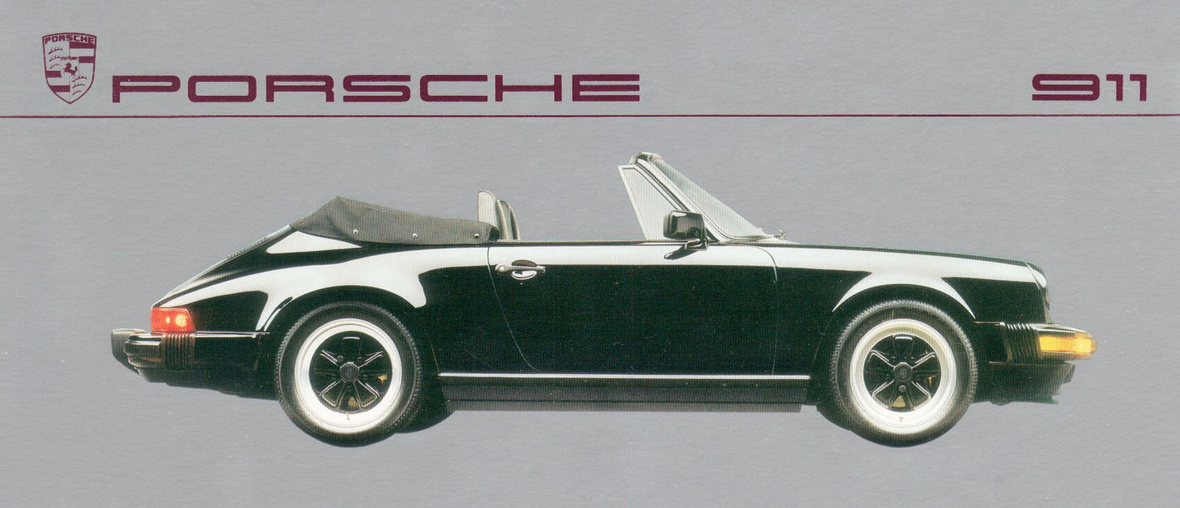 Flyer Porsche 911 from 1987
