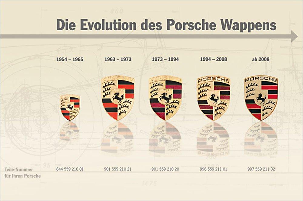 Das Porsche Wappen Entwicklung Und Herstellung