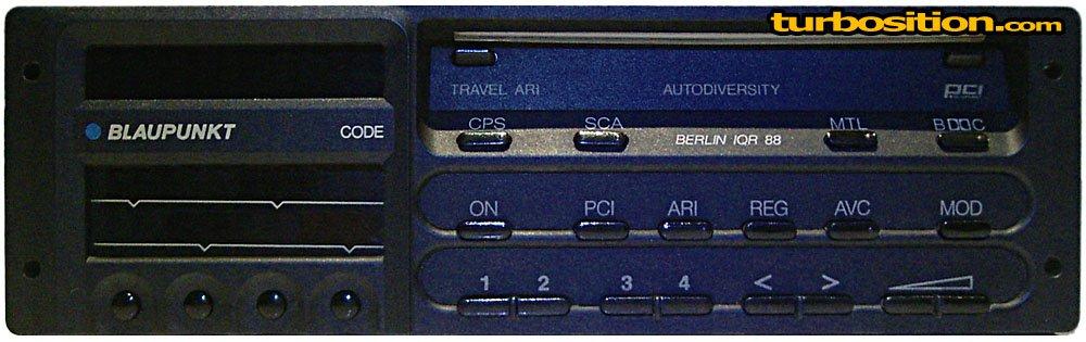 porsche radios from 1974 1989 turbosition. Black Bedroom Furniture Sets. Home Design Ideas