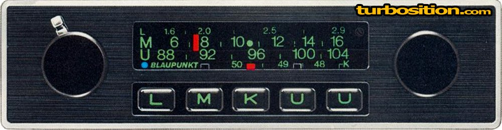 Porsche Radios from 1974 - 1989 // TurboSition