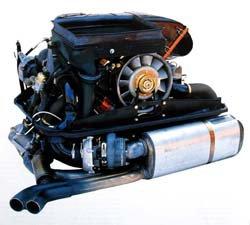 Porsche 930 Motor