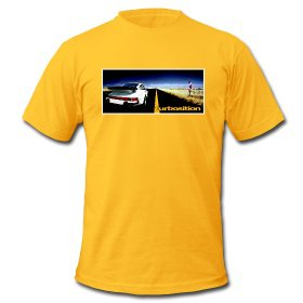 T-Shirt: Porsche 911 turbo on highway